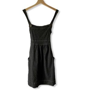 Mossimo Supply Co Medium Denim Overall Dress